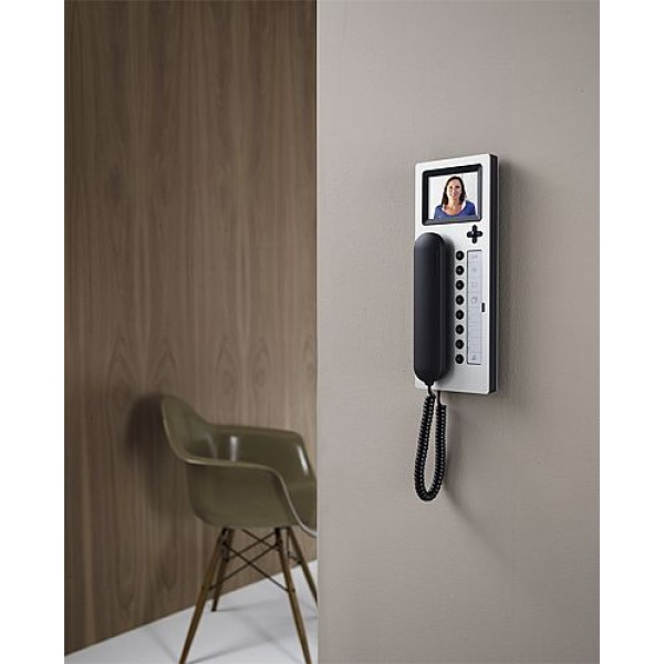 siedle btcv 850 03 comfort bus telephone with color monitor. Black Bedroom Furniture Sets. Home Design Ideas