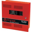 Potter PFC-5004E 4 Zone Expandable Fire Control Panel
