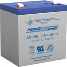 Power-Sonic PS1250F1 12Volt 5 Amp Battery