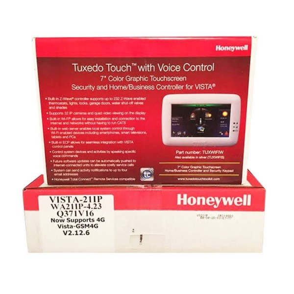 Honeywell Intrusion VISTA-21IP SIA 8 Zone Integrated IP Control Panel